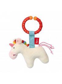 sigikid Plüschtiere für Babys: Einhorn weiß, Spielanhänger | Kuscheltier.Boutique