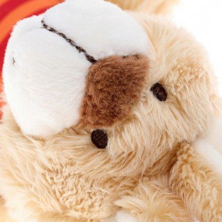 sigikid Plüschtiere für Babys: Hase gestreift, Spielanhänger Detail | Kuscheltier.Boutique