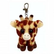 Clips / Anhänger: Schlüsselanhänger Giraffe Peaches, 10cm