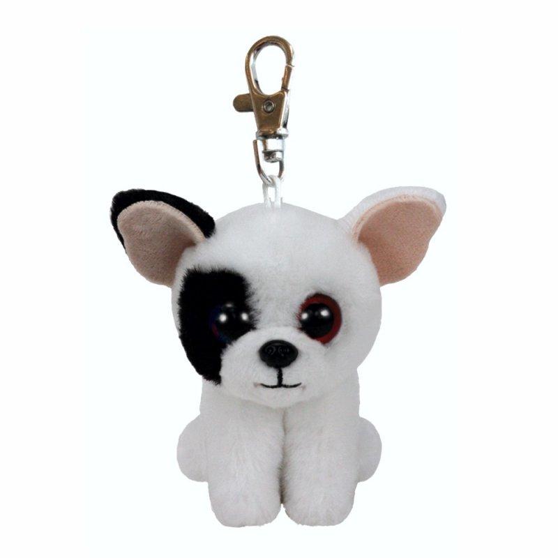 Bulldogge Marcel, 10cm   Ty Beanie Babies Classic Schlüsselanhänger