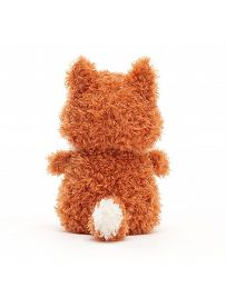 Jellycat Little Plüschtiere: Fuchs rotbraun Rückseite | Kuscheltier.Boutique