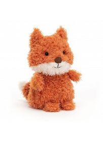 Jellycat Little Plüschtiere: Fuchs rotbraun Vorderseite | Kuscheltier.Boutique