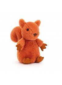 Jellycat Nippit Plüschtiere: Eichhörnchen, rostbraun | Kuscheltier.Boutique