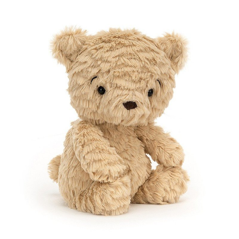 Jellycat Squishu Plüschtiere: Teddybär, beige   Kuscheltier.Boutique