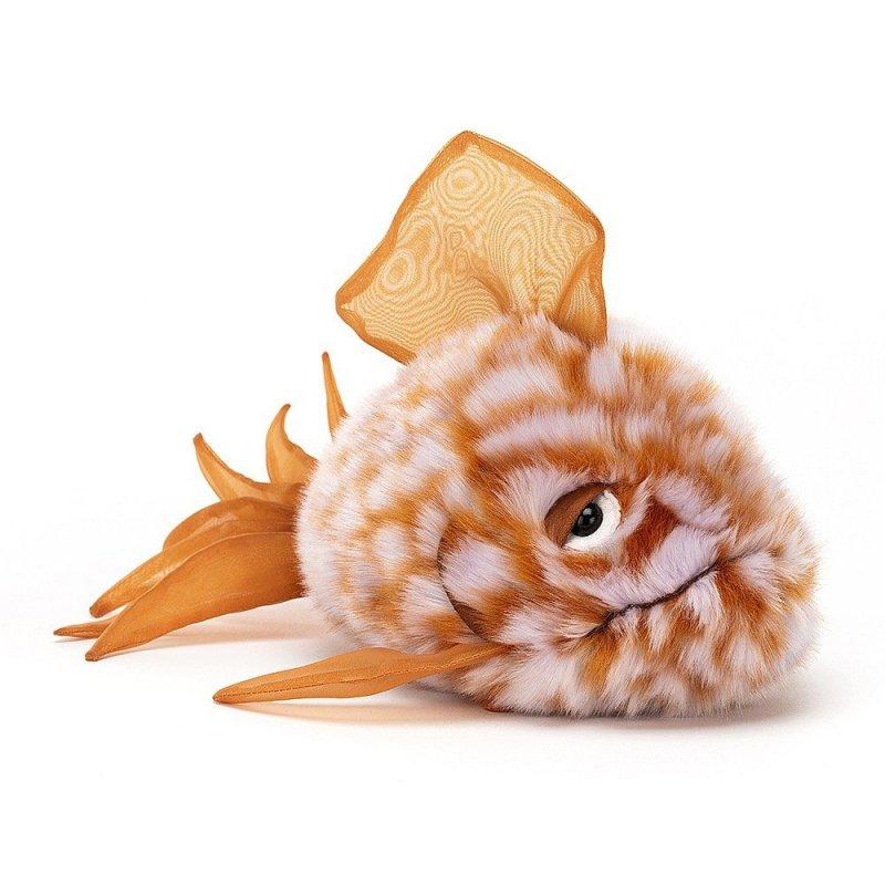 Jellycat Plüschtiere: Kugelfisch Grumpy, orange Vorderseite | Kuscheltier.Boutique
