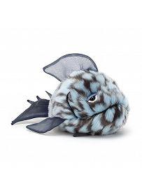 Jellycat Plüschtiere: Kugelfisch Grumpy, blau Vorderseite   Kuscheltier.Boutique