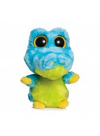 Yoohoo & Friends: Aligator Smilee blau, 12cm Aurora Plüschtiere   Kuscheltier.Boutique