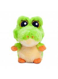 Yoohoo & Friends: Aligator Smilee grün, 12cm Aurora Plüschtiere | Kuscheltier.Boutique