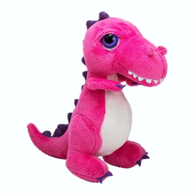 Dino T-Rex pink, 15cm   LiL Peepers Kuscheltier der englischen Marke SUKIgift