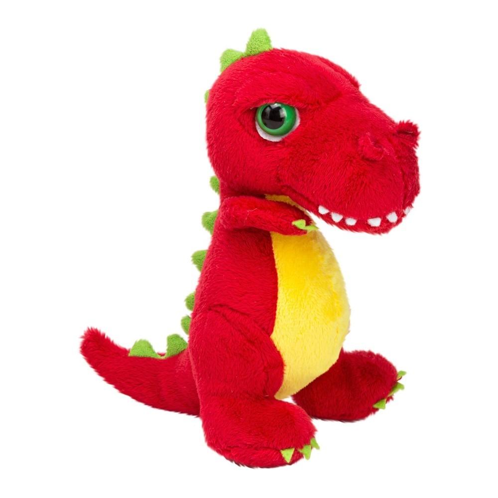 Dino T-Rex rot, 15cm   LiL Peepers Kuscheltier der englischen Marke SUKIgift