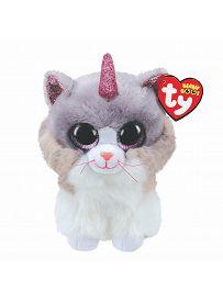 Ty Beanie Boos Plüschtiere: Katze Asher, 15cm   Kuscheltier.Boutique