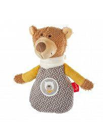 sigikid für Babys: Teddybär HoniBoniBear, Wärmekissen mini   Kuscheltier.Boutique