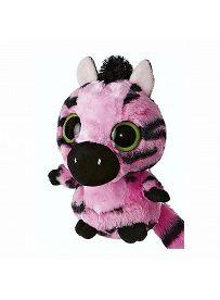 Yoohoo & Friends: Zebra Stripee pink, 12cm Aurora Plüschtiere | Kuscheltier.Boutique