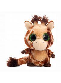 Yoohoo & Friends: Giraffe Topsee braun, 12cm Aurora Plüschtiere   Kuscheltier.Boutique
