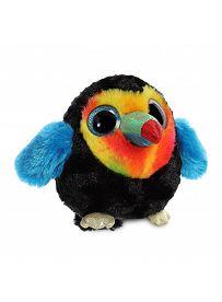 Yoohoo & Friends: Tukan Kiwii, schwarz / bunt Aurora Plüschtiere | Kuscheltier.Boutique