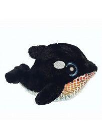Yoohoo & Friends: Schwertwal Blackee, 12cm Aurora Plüschtiere | Kuscheltier.Boutique