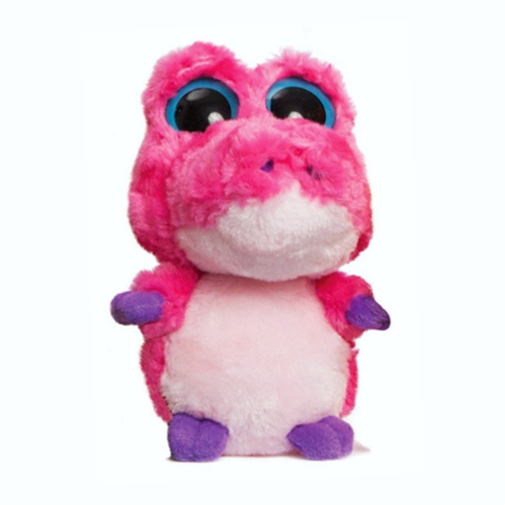Yoohoo & Friends: Aligator Smilee pink, 12cm Auroraworld