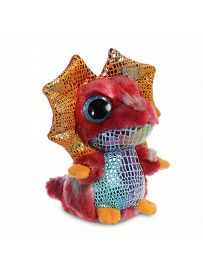 Yoohoo & Friends: Kragenechse Louee, 12cm Aurora Plüschtiere | Kuscheltier.Boutique