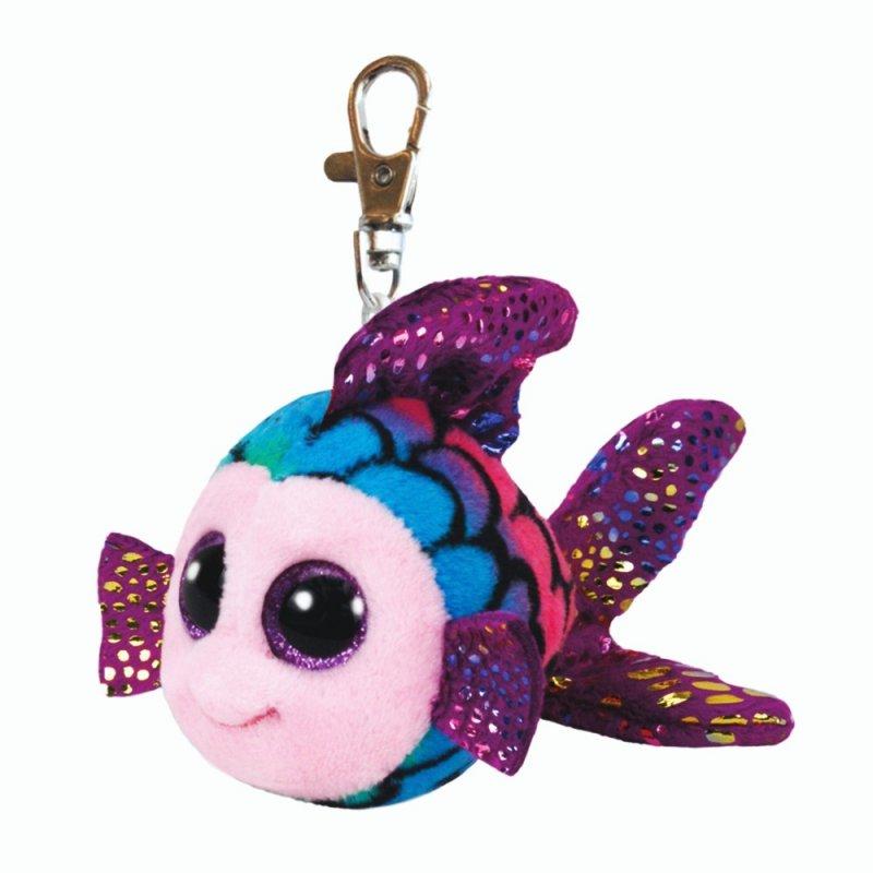 Ty Beanie Boo's: Schlüsselanhänger Regenbogenfisch Flippy, 10cm