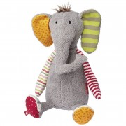 Elefant bunt, 40cm | sigikid Patchwork Sweety Kuscheltier