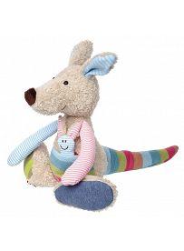 Känguruh, 28cm | sigikid Patchwork Sweety Kuscheltier