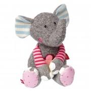 Elefant rosa, 31cm   sigikid Patchwork Sweety Kuscheltier