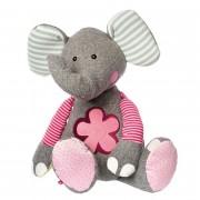 Elefant rosa, 80cm   sigikid Patchwork Sweety Kuscheltier