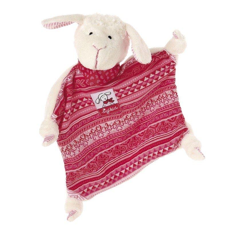 sigikid für Babys: Schaf Schnuggi, Schmusetuch