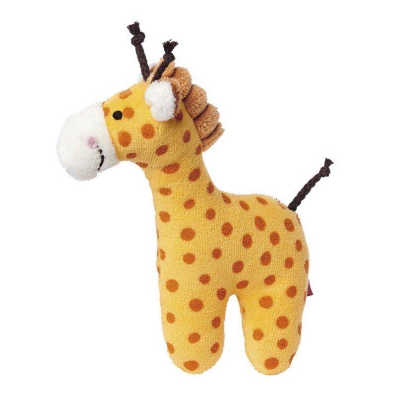 sigikid für Babys: Giraffe, Rassel 15cm