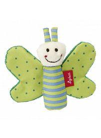 sigikid für Babys: Schmetterling grün, 9cm