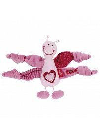 sigikid für Babys: Schmetterling rosa, 13cm