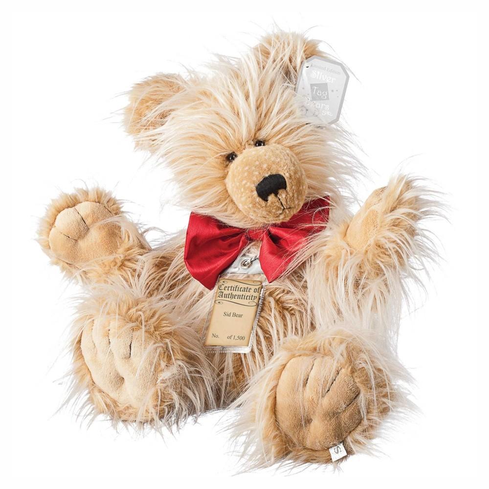 Teddybär Sid, 45cm | Silver Tag Bears von Suki Gift England