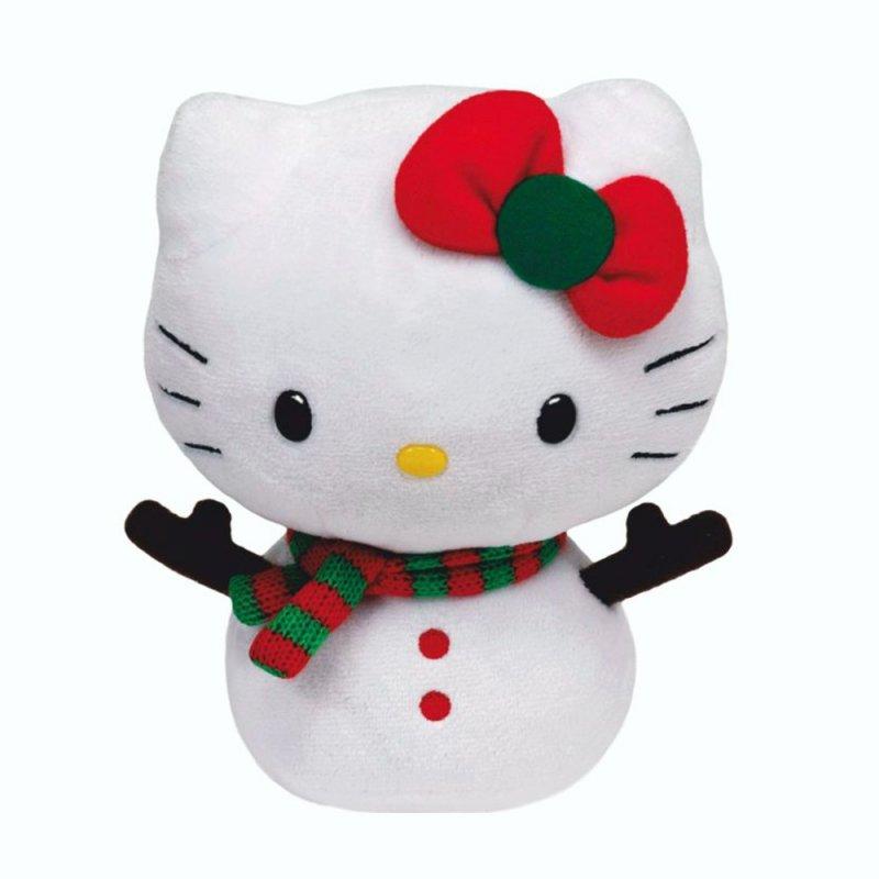 Ty Hello Kitty Schneemann , 15cm