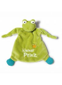 """My First NICI: Froschkönig, Schmusetuch """"kleiner Prinz""""   Kuscheltier.Boutique"""