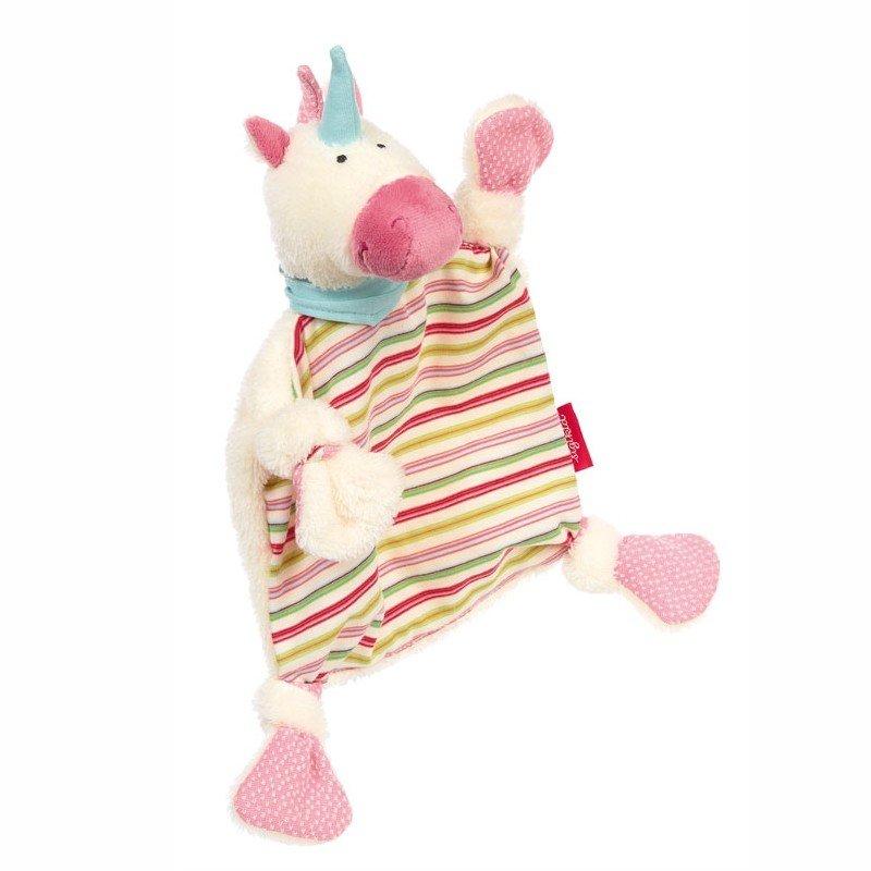 sigikid für Babys: Einhorn rosa, Schmusetuch
