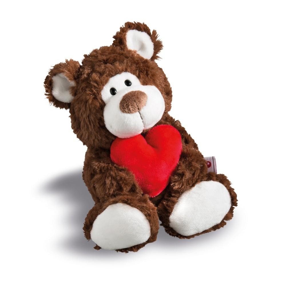 NICI Teddybären: Bär love braun, 22cm