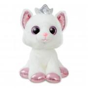 Sparkle Tales: Katze mit Krönchen, 18cm