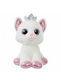 Katze mit Krone, 18cm Aurora Sparkle Tales Plüschtiere | Kuscheltier.Boutique
