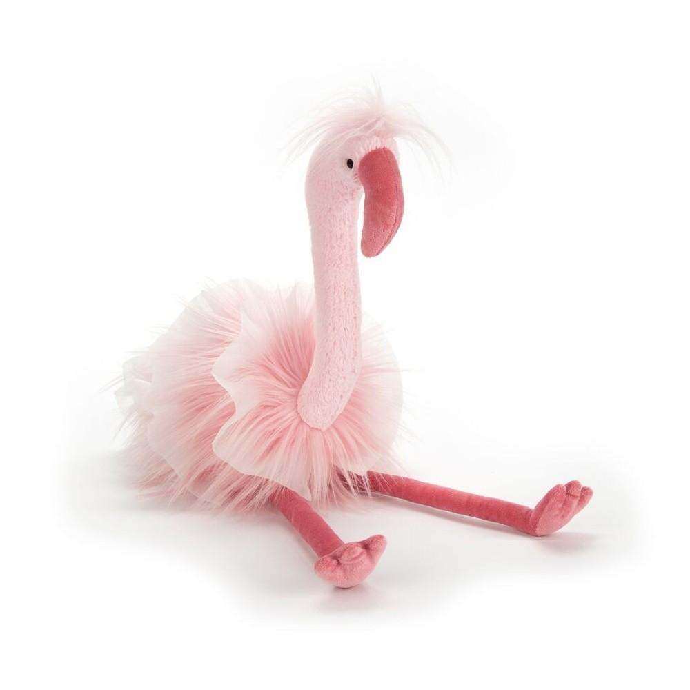 Flamingo Flo Muflingo, 51cm: ein außergewöhnliches Plüschtier von Jellycat