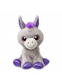 Esel Bluebell, 18cm Aurora Sparkle Tales Plüschtiere   Kuscheltier.Boutique