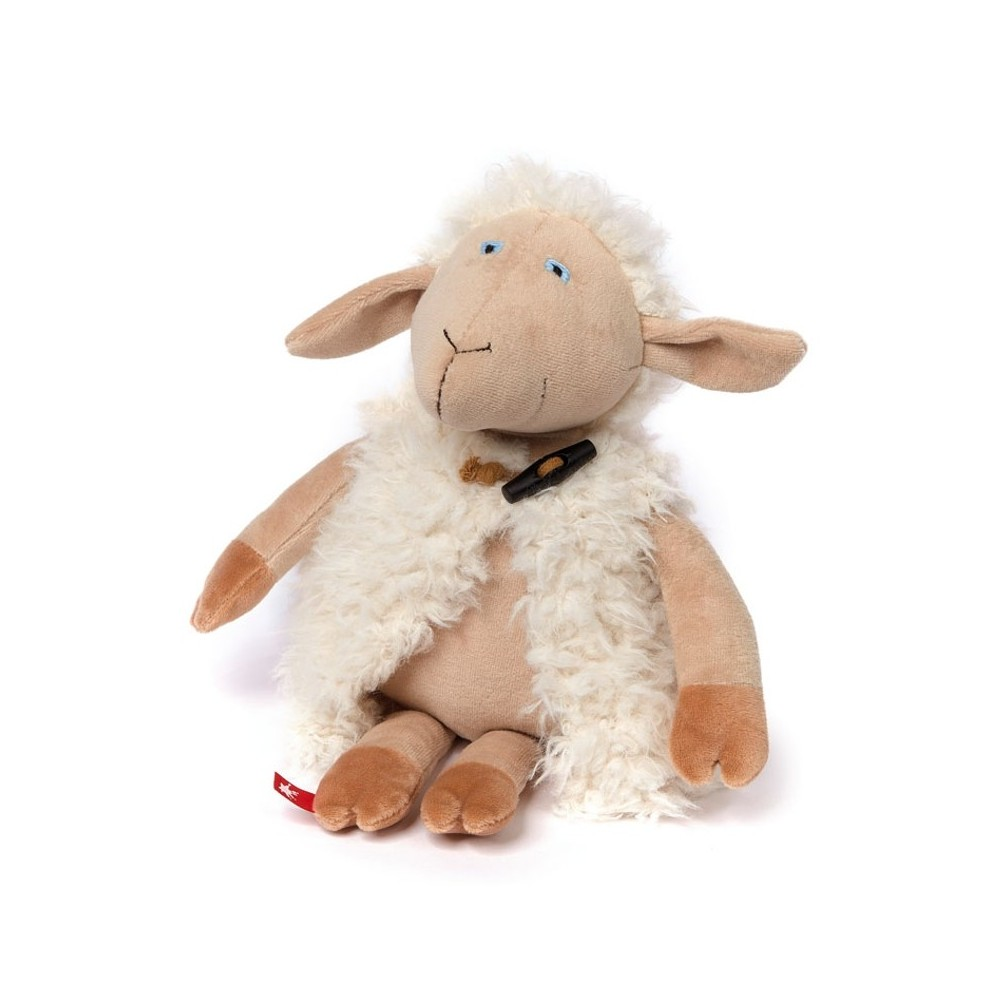 Schaf Schlotter, 33cm | sigikid BEASTtown Kuscheltier für Jugendliche und Erwachsene