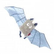 Fledermaus blau, 44cm sigikid Schmusetuch