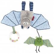 Fledermaus blau, sigikid Greifling / Spielanhänger