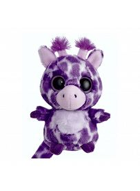 Yoohoo & Friends: Giraffe Topsee lila, 12cm Aurora Plüschtiere   Kuscheltier.Boutique
