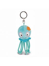 NICI Summer Friends: Octopus Curly, 10cm als Schlüsselanhänger