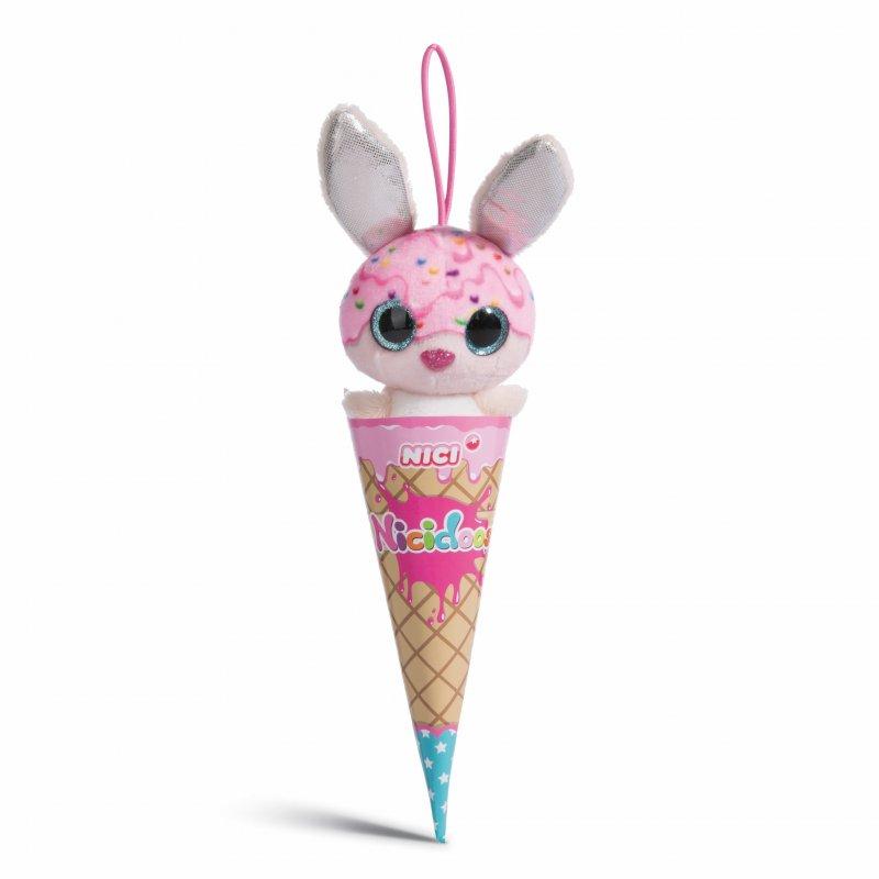 NICIdoos Ice Cream Edition: Hase Rainbow Bubble, 9cm