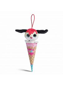 NICIdoos Ice Cream Edition: Hund Strawberry Cheesecake, 9cm