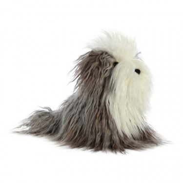 Luxe Boutique: Bobtail Hund Finley, 25cm