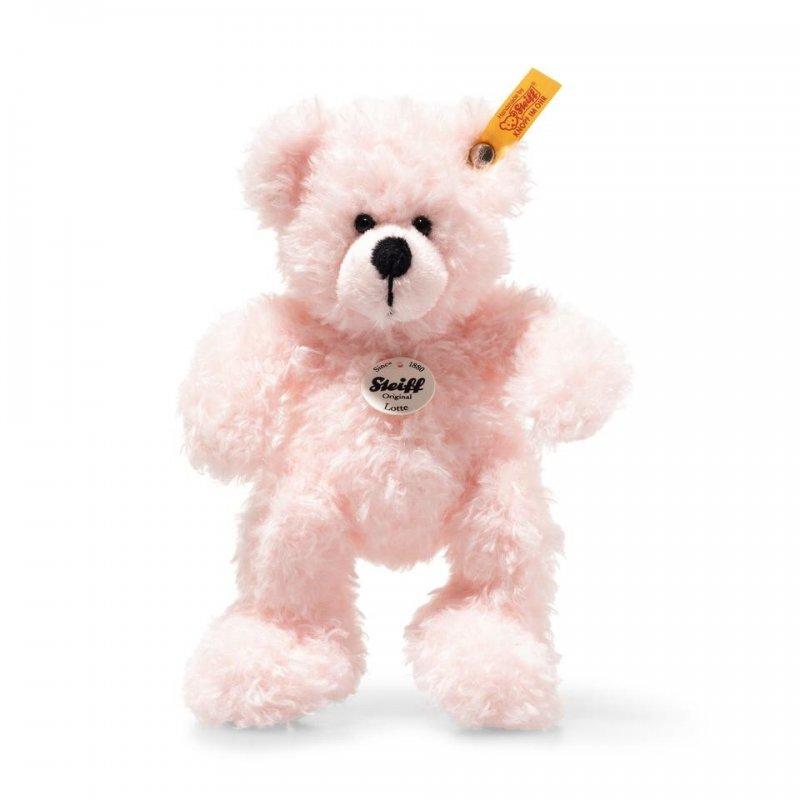Steiff - Knopf im Ohr: Teddybär Lotte, 17cm rosa | Kuscheltier.Boutique