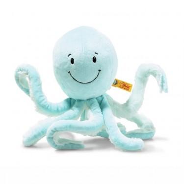 Steiff - Knopf im Ohr: Oktopus Ockto, 27cm türkis
